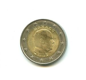Monaco 2 euro Prince Albert 2012 n°E2275