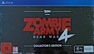 ZOMBIE ARMY 4 DEAD WAR Collector's Edition - PlayStation 4 PS4 ~ Brand New