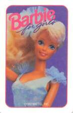 Barbie for Girls Single Swap Playing Card Vintage