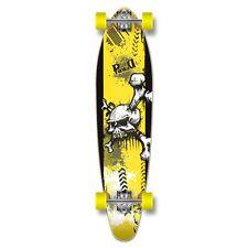 "Yocaher Complete ""Y-Skull"" Kicktail Longboard222"
