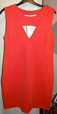 Zara Cut out Orange BNWT dress Size UK M EUR M Party, Going out, Festival