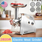Electric Meat Grinder Sausage Stuffer Mincer Food Grinding Mincing Machine 2800W photo