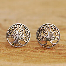 Handmade Sterling Silver Stud Fine Earrings without Stones