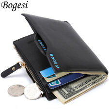 Bogesi Male Cuzdan Small Portfolio Designer Famous Brand Short Men Wallet Coin P