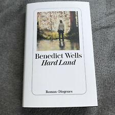 Buch Hard Land Benedict Walls Roman neu