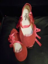 Repetto Fushia Pink Suede Ballet Style Flat Shoes EU38  UK5 - RRP £120 Boxed