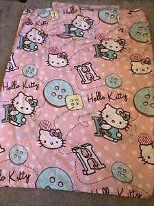 Hello Kitty single duvet cover set Very Good Condition