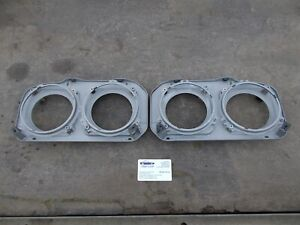 Ford Capri MK3. Headlamp mounting plates