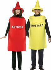 Ketchup & Mustard Couples Costume