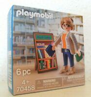 Playmobil Die Buchhändlerin Thalia 70458 Neu & OVP exklusiv Promo Werbefigur