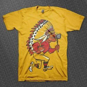 Kansas City Chiefs NFL Football T shirt Gold Unisex Cotton Reprint Vintage HOT