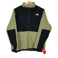 The North Face Mens Denali Fleece Jacket XXL Green Black Full Zip 190849944990