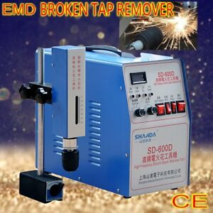Electric EDM Broken tap remover Screw Extractor Spark Erosion Machine eroder