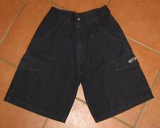 Shorts Gr 140 Navy Dunkelblau von Rucanor  Cargoshorts Dehnbund 100 % Baumwolle