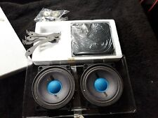 Rare NOS Vintage Blaupunkt SC M4500 Car Stereo Speakers Blue Magic Mid Component