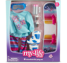 My Life As Snowboarder Play Set For 18� Dolls - Snowboard • Clothes • Boots(New)