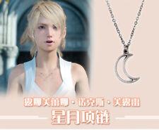 Final Fantasy XV Lunafreya Princess Necklace Star Moon Pendants Cosplay Jewelry