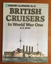 British Crusiers in WW1 - Warships Illustrated No. 12,  Arms & Armor Press 1987