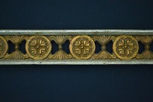 """Vintage Antique Wood Carving salvage 36"""" panel architectural Bohemian Victorian"""