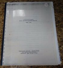 Transistor Devices, DLR 400-15-2500A Instruction Manual