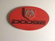 dodge wall plaque