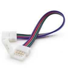 CONECTOR 10mm RGB RÁPIDO PRESILLA Conector ENCHUFE PARA TIRA LED B1E15