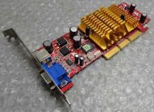 Original Genuine MSI 8936 FX5500-T128 602-8936  VGA / TV AGP Graphics Card