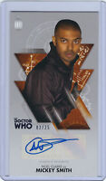 Noel Clarke as Mickey Smith Autograph - Doctor Who Widevision - 02/25 - Topps
