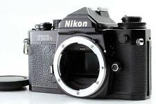 【Near MINT+++】 Nikon FM3A Black Body 35mm SLR Film Camera From JAPAN #1233