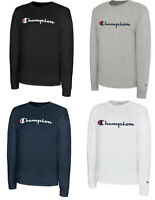 CHAMPION Classic Script Logo LONG SLEEVE Athletic T-Shirt Tee New S-2XL