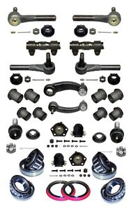 22 Piece Tie Rod Ball Joint Idler/Pitman Arm Kit fits Chevy G10 G20 Vans 1983-95