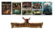 Pirates of the Caribbean 1 2 3 4 5 DISNEY the complete set