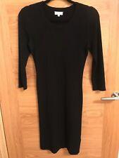 Vestido de punto ESCADA Negro Talla XS UK 8/10 £ 295