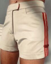 Vintage 3 Red Stripes 90's Adidas Original Shorts RARE RETRO XS UK 4 6 8 One Off