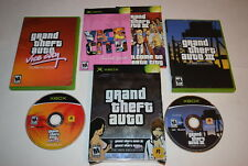 Grand Theft Auto Double Pack Microsoft Xbox Video Game Complete