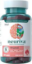 2 pack Neuriva Brain Performance Original Strawberry Gummies 50 x 2= 100 count