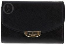 NWT*Kate Spade*New York*Mulberry Street*Callie Pebbled Leather Wallet *Black