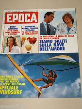 EPOCA=1981/1610=PIERO OTTONE=ROBERTO PECI=ROMY SCHNEIDER=SPECIALE WINDSURF=