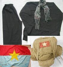 Vietnam War_ Set of UNIFORMS_ RUCKSUCK _ AO BA BA, Scarf,  A SET OF UNIFORMSSS