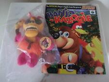 Banjo Kazooie N64 Mumbo Jumbo Promotional Collector's Plush, w/ Video Game Guide