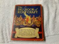 Vintage 1929 The Big Book Of Scout Craft Boy Scout Guide Whitman Publishing
