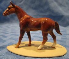 Hagen Renaker Miniature, Quarter Horse on Base, Retired, #2012, Made in Usa