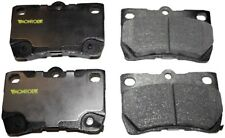 Disc Brake Pad Set-Total Solution Ceramic Brake Pads Rear Monroe CX1113