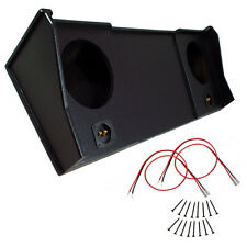 Dodge Ram 98-01 Ext Crew Cab Truck 10 Coated Sub Box Speaker Subwoofer Enclosure