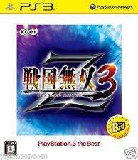 Used PS3 Sengoku Musou 3 Z SONY PLAYSTATION 3 JAPAN JAPANESE IMPORT