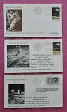 Apollo 11 Moon Landing Cape Canaveral 20.07.1969 3 different covers - Space USA