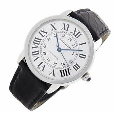 Cartier Ronde Solo XL 42mm W6701010 stainless Swiss automatic mens fine watch