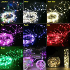 5M 50LED DC12V Copper Wire Fairy String Lights Lamp Garden Christmas Party Decor