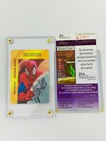 STAN LEE (Signed) Autograph 1995 overpower card RARE coa (jsa 611811) marvel