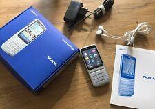 Nokia  C3-01 - Silber (ohne Simlock)  gut bis sehr gut 100% Original !